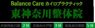 [東神奈川整体院] 駅徒歩2分 1階/肩こり・腰痛・首痛等/土日祝営業/カイロ・タイ古式